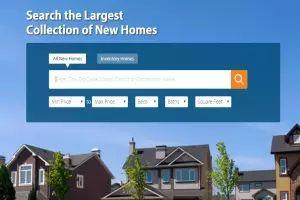 Button Search New Homes